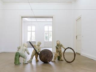 Geometric Applications for Times of Peril; exhibition view, Alessio delli Castelli