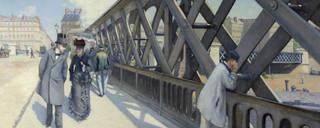 Le Pont de l'Europe, Gustave Caillebotte