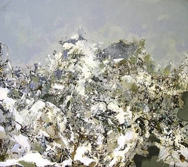 Landscape with Snow ,Hong Ling