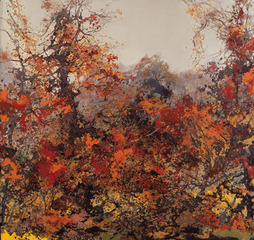 Late Autumn ,Hong Ling