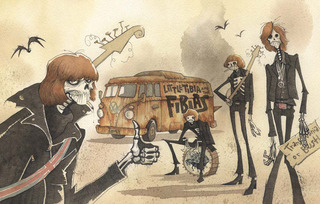 Late for the Monster Party, Gris Grimly