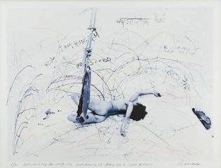 Up To and Including Her Limits-Blue, Carolee Schneemann