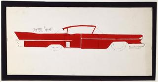 Car  ,Andy Warhol