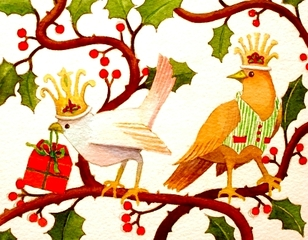 Holly Birds, Tania Beaumont