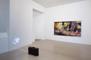 Installation View, Tilo Baumgärtel