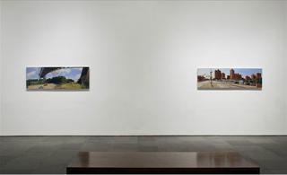 Installation view, main gallery, Rackstraw Downes