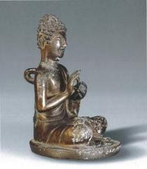 Seated Statue of Buddha,