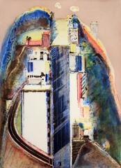 Steep Street ,Wayne Thiebaud