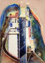 Steep Street , Wayne Thiebaud