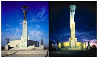 IPUT (International Parallel Union of Telecommunications): Skulptur der Seele der Freiheit ,