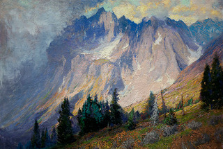 Gathering Storm Near the San Juan Mountains, Charles Partridge Adams