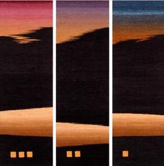 Landscape Series Triptych #3 ,Rebecca Bluestone