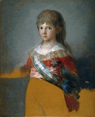The Infante Don Francisco de Paula Antonio,Francisco de Goya