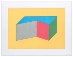 Forms Derived from Rectangular Solid, Sol LeWitt