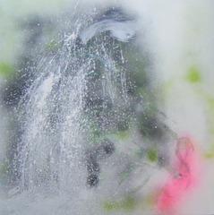 Prana and the waterfall, Hannah Hardy