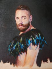 Black feathers No. 2, Danny Keith