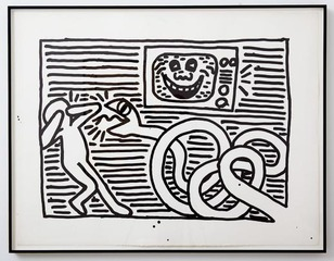 Untitled,Keith Haring