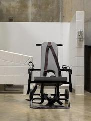 Camps IV - Camp 6, Mobile force-feeding chair ,Edmund Clark