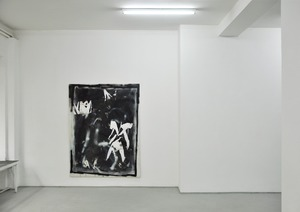 20121115032207-david-ostrowski__f__monsters___2011__oil__lacquer_and_paper_on_canvas__195_x_150_cm