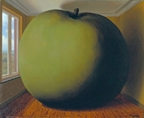 La chambre d'écoute (The Listening Room), René Magritte