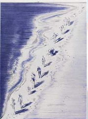 Tide Figures,Wayne Thiebaud