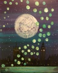 Over London, Johanna Wright
