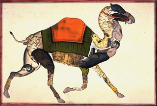 Anonymous Indian artist. Composite Camel ,
