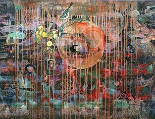 Music of the Great Earth II, Hung Liu