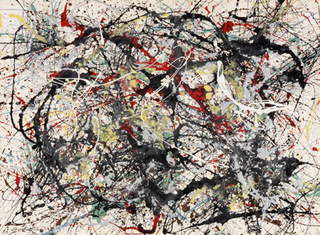 Number 34, 1949,Jackson Pollock