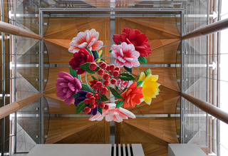 Flower Chandelier, Choi Jeong-Hwa