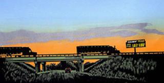 Truckin at Sunset, Anthony Lazorko
