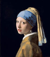 Girl with a Pearl Earring,Johannes Vermeer