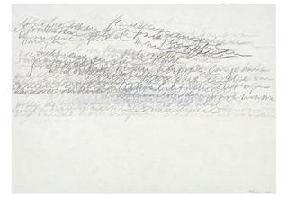 tekening uit de reeks \'The Clouds\', Toine Horvers