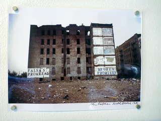 Broken Promises/ Falsas Promesa, South Bronx, NY, John Fekner
