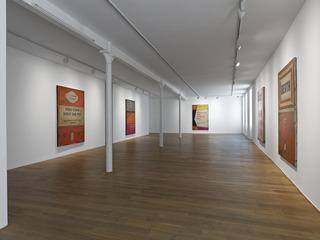 Installation view, Harland Miller