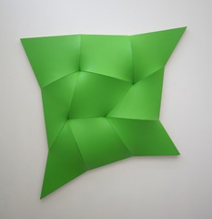 Dynamic Monochrome green  , Jan Maarten Voskuil