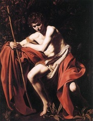 John the Baptist in the Wilderness, Caravaggio