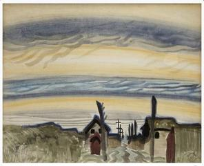 Early Morning ,Charles Ephraim Burchfield
