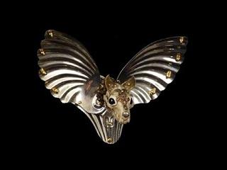 Bat-bird Hatpin, Jessica Joslin