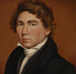 The Artist as a Young Man: Self Portrait,William Matthew Prior