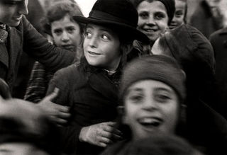 Jewish schoolchildren, Mukacevo, Roman Vishniac