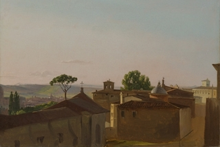 View on the Quirinal Hill, Rome  , Simon Denis