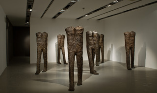 Walking Figures, Magdalena Abakanowicz