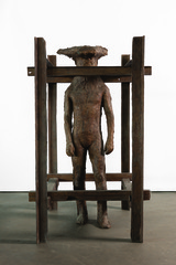 Gutron in Cage, Magdalena Abakanowicz