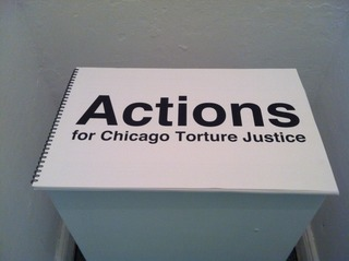 100 Actions for Chicago Torture Justice, Lucky Pierre
