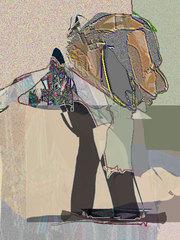 Walking Man, Fred Holle