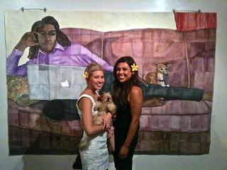 Raheem and cute girls, Corey Thering