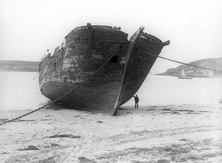 Wreck at Scilly Isles  ,