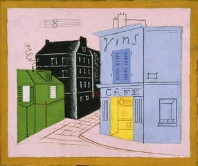 Blue Café, Stuart Davis