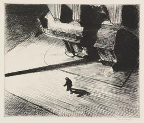Night Shadows, Edward Hopper